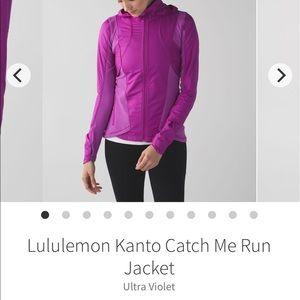 Like New! Lululemon Kanto Catch Me Run Jacket